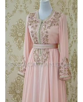 Kaftan dress Zaynab (pink)
