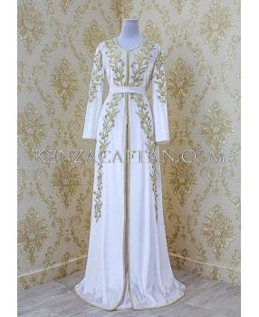 Kaftan Dress Fatima (white)