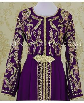 Kaftan Najwa (purple)